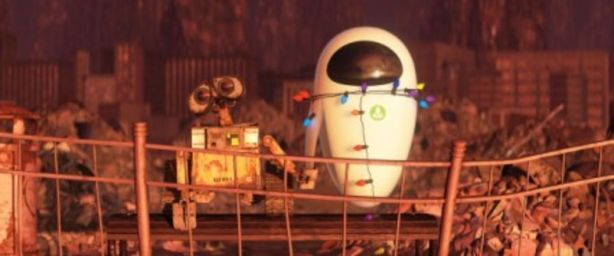 WALL-E and EVE (Wall-E Production Notes, Pixar Talk Blog)