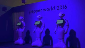 Japan News. Pepperworld 2016 frame