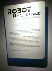 Robot Hall of Fame Narrative