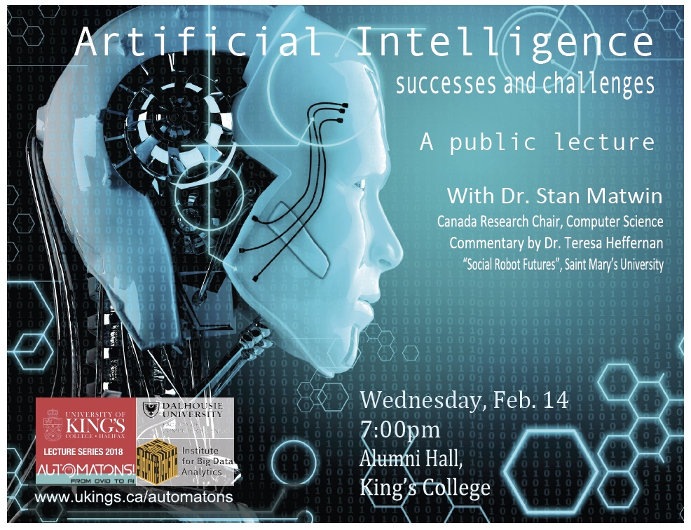 Deus Ex Machina Artificial Intelligence Meets Real: Public Lecture On Artificial Intelligence